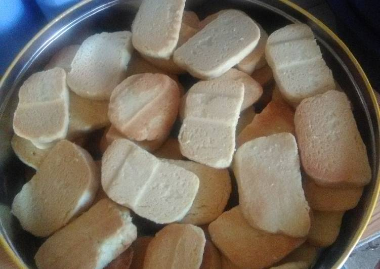 Recipe of Perfect Shortbread butter biscuits (Homemade eet sum mors)