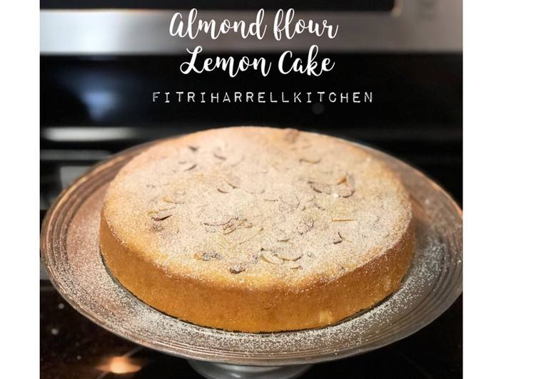 Lemon Cake (almond flour)