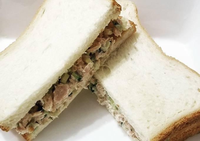 Tuna Cucumber Sandwich