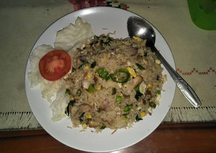 Nasi Goreng Cabai Hijau ala chef Ike😄