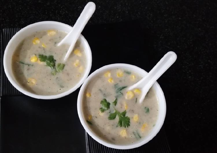 Step-by-Step Guide to Prepare Quick Mushroom corn soup