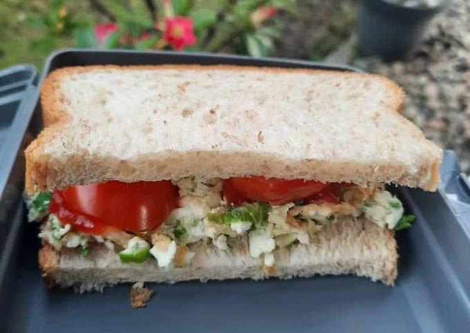 Sandwich for diet - sarapan sehat tetap kenyang satu harian NO MINYAK