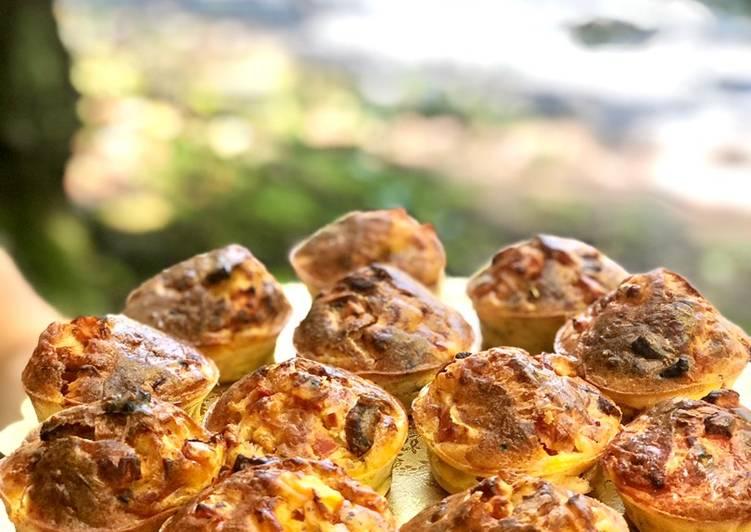 Top 10 Meilleures Recettes de Muffins tomate et lardons