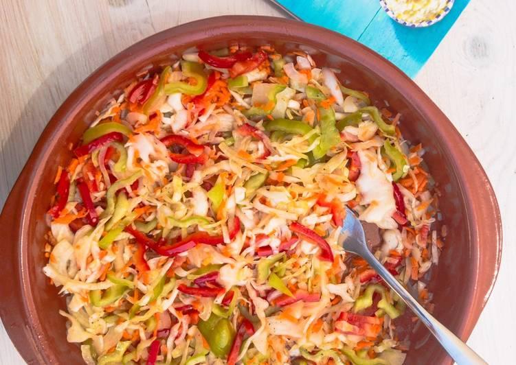 Recipe: Perfect Leichter bunter Krautsalat