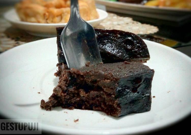 Brownies Pisang Kukus