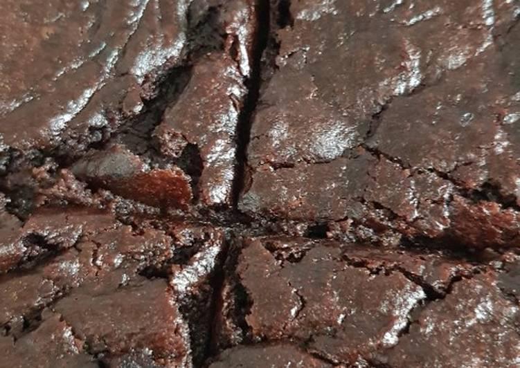 Steps to Prepare Top-Rated Vegan gluten-free brownies