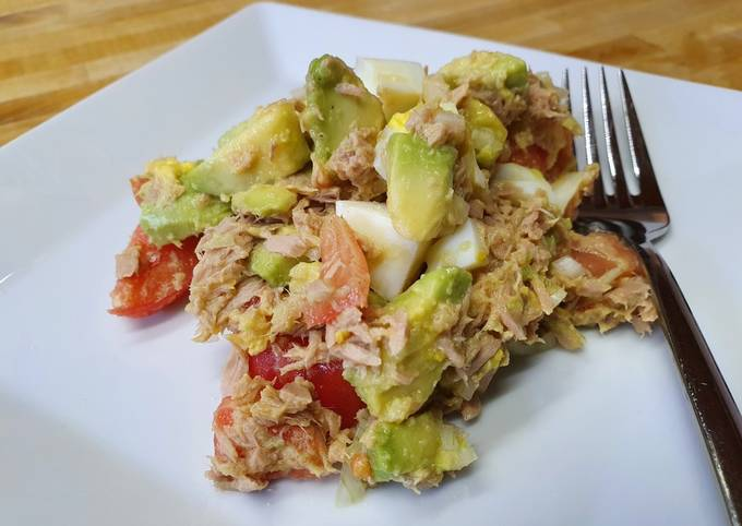 Thunfisch-Avocado-Eiersalat