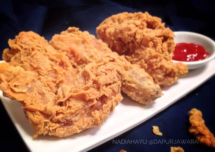 Resep Jawara Fried Chicken Ayam Goreng Tepung Krispi Ala Dapur Jawara Oleh Nadia Hayu Cookpad