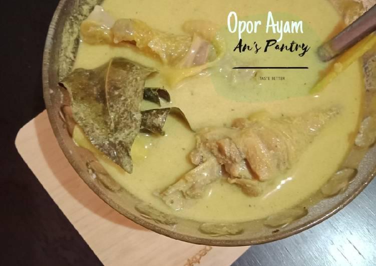 Resep Opor Ayam Anti Gagal