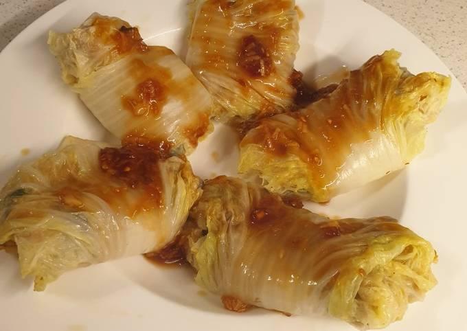 Easiest Way to Cook Tasty Vegan cabbage rolls