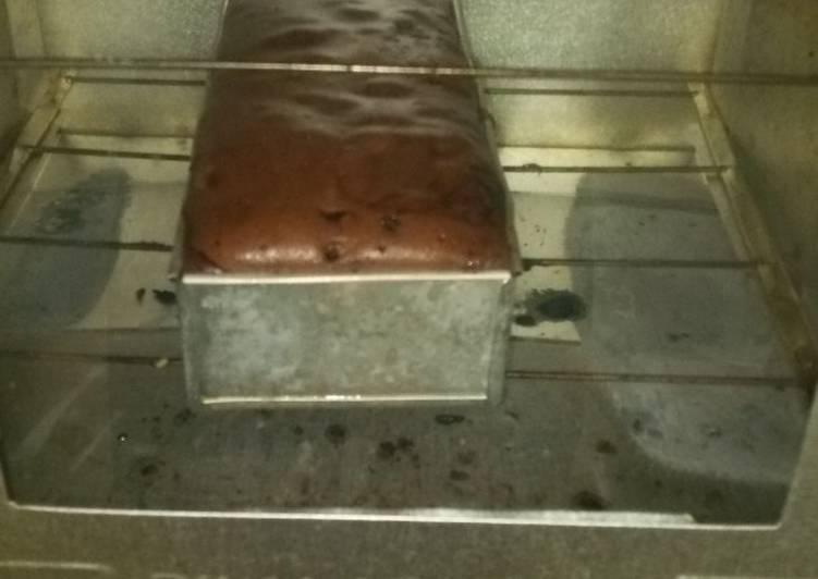 Brownies bakar irit telur