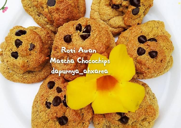 Roti Awan Matcha Chocochips