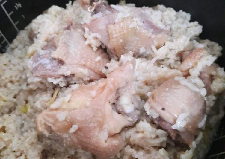 Nasi ayam hainan ricecooker
