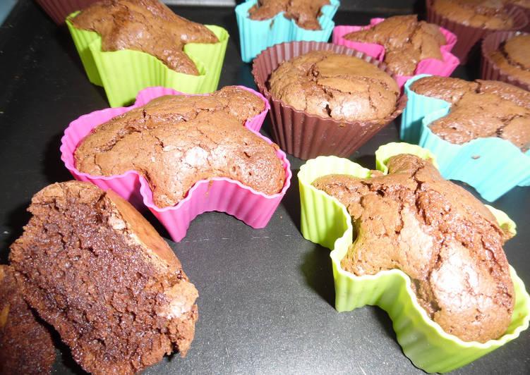 recette Le fondant au chocolat qui plait à tous.. Le plus simple