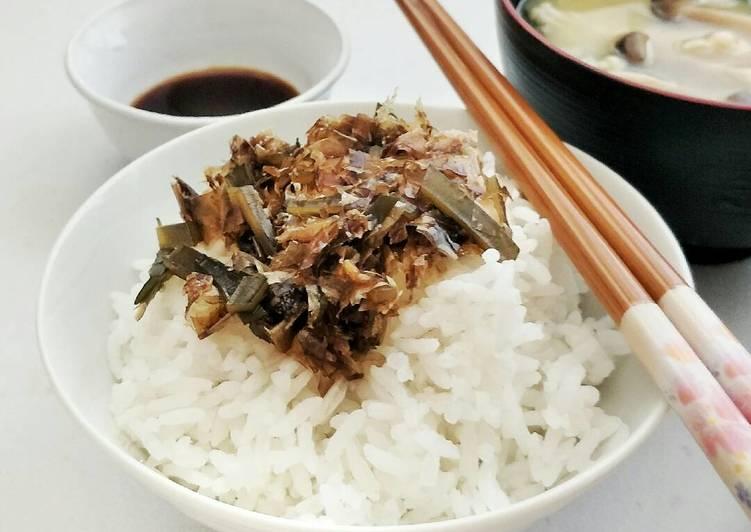 Steps to Make Quick Dashi Leftover Furikake