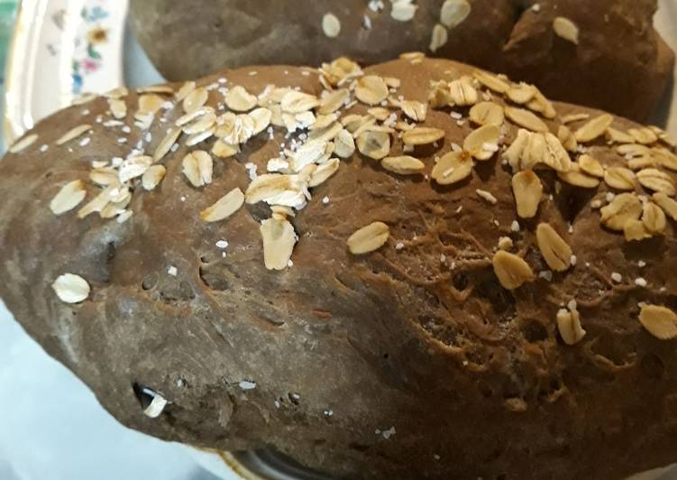 Three Little Molasses Loaves