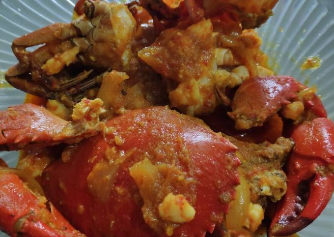 Resep Kepiting saos padang yang Bisa Manjain Lidah
