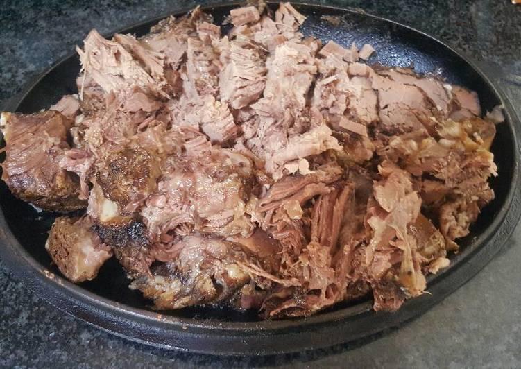 Overnight Beef Rib Roast