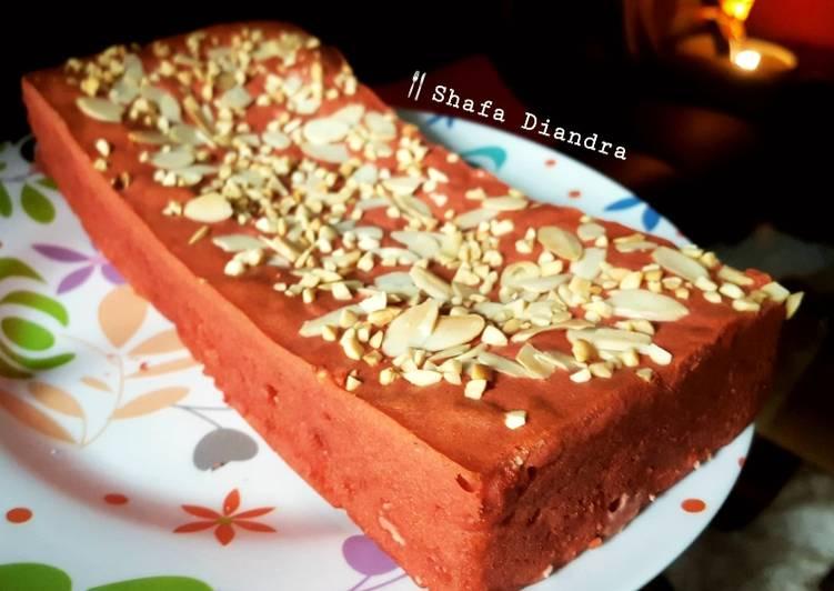 Peanut Butter Red Velvet Fudgy Brownie #dessert 🇲🇨