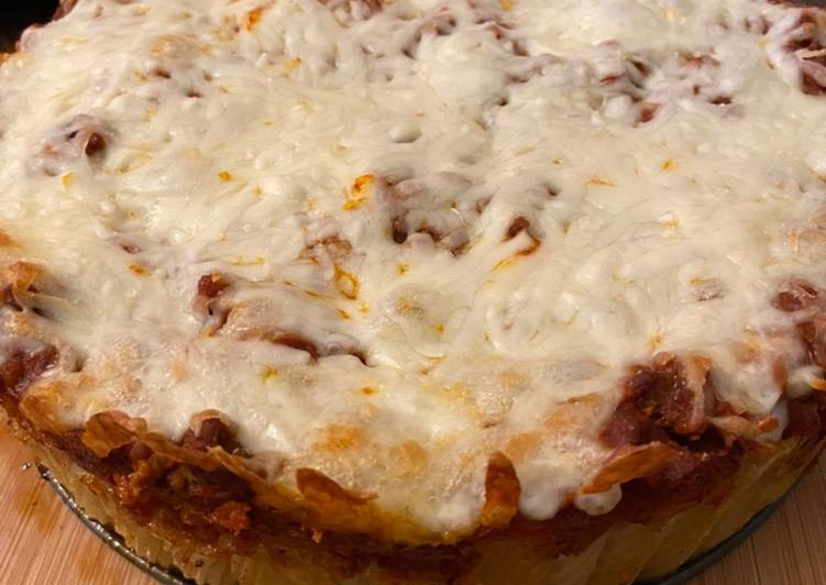 Recipe: Delicious Rigatoni pasta pie