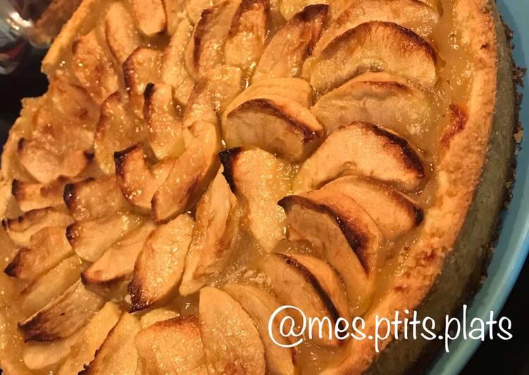 How to Prepare Speedy Tarte aux pommes 🍏🍎😋