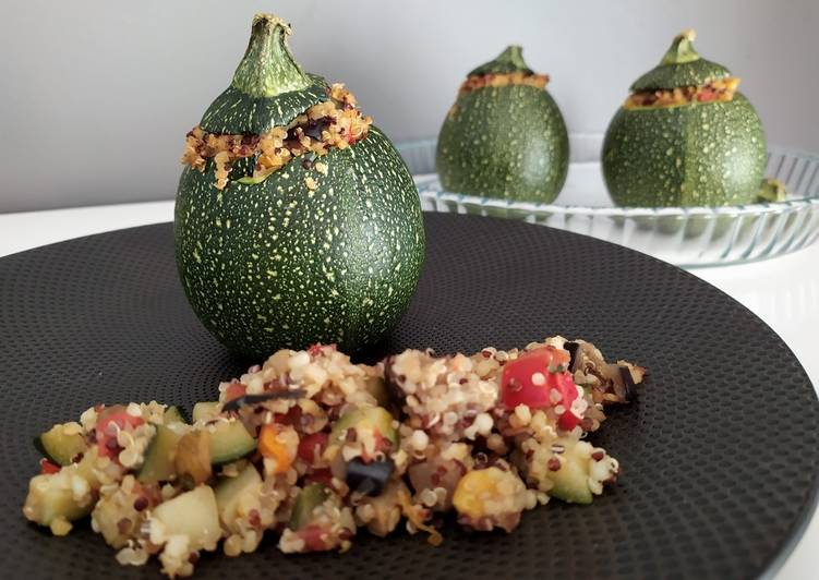 How to Prepare Tasty Courgettes farcies au quinoa – IG Bas