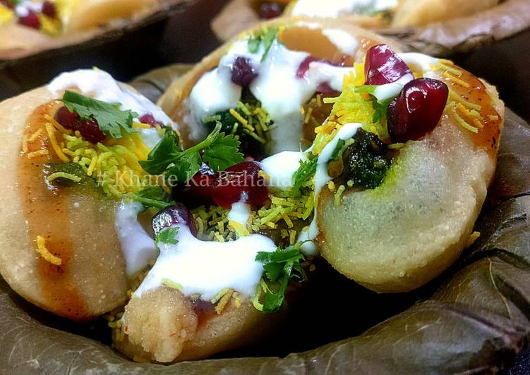 Eat These 14 Superfoods to Go Green for Better Health Dahi Puri or Mitha golgappa