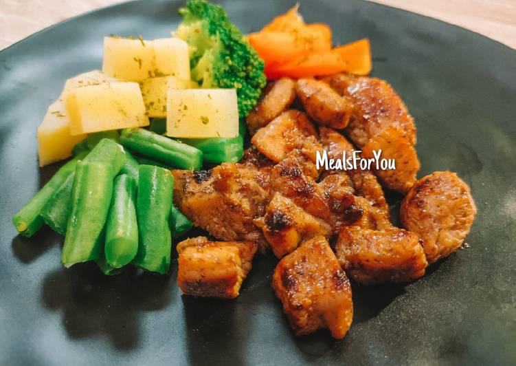 Recipe: Appetizing Ayam Panggang Teflon – Resep Diet