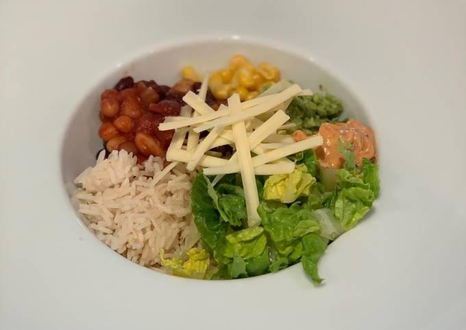 Chipotle & Bean Burrito Bowl 🌯