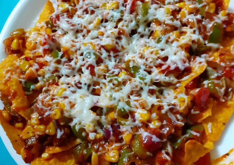 Maize flour Nachos salsa