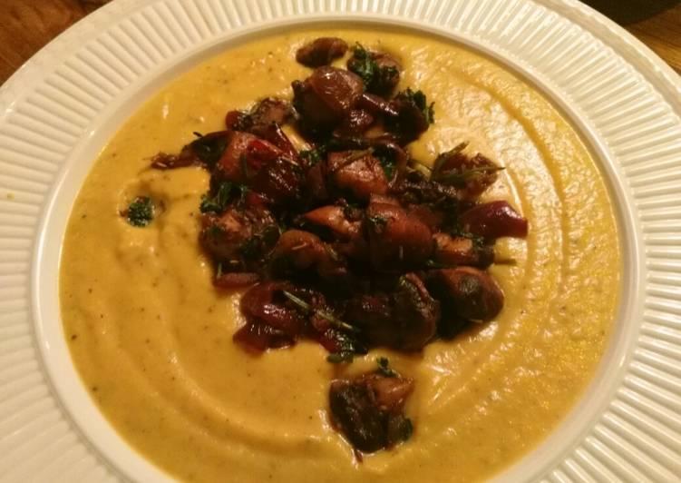 Cremige Steckrüben-Suppe