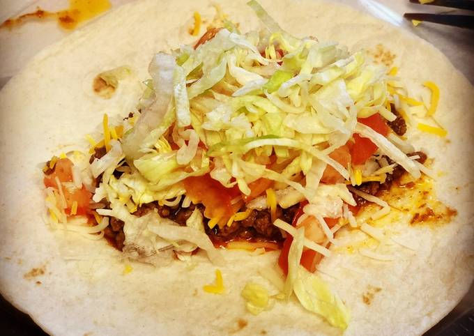 Recipe of Homemade Ground beef Tacos! Very Simple