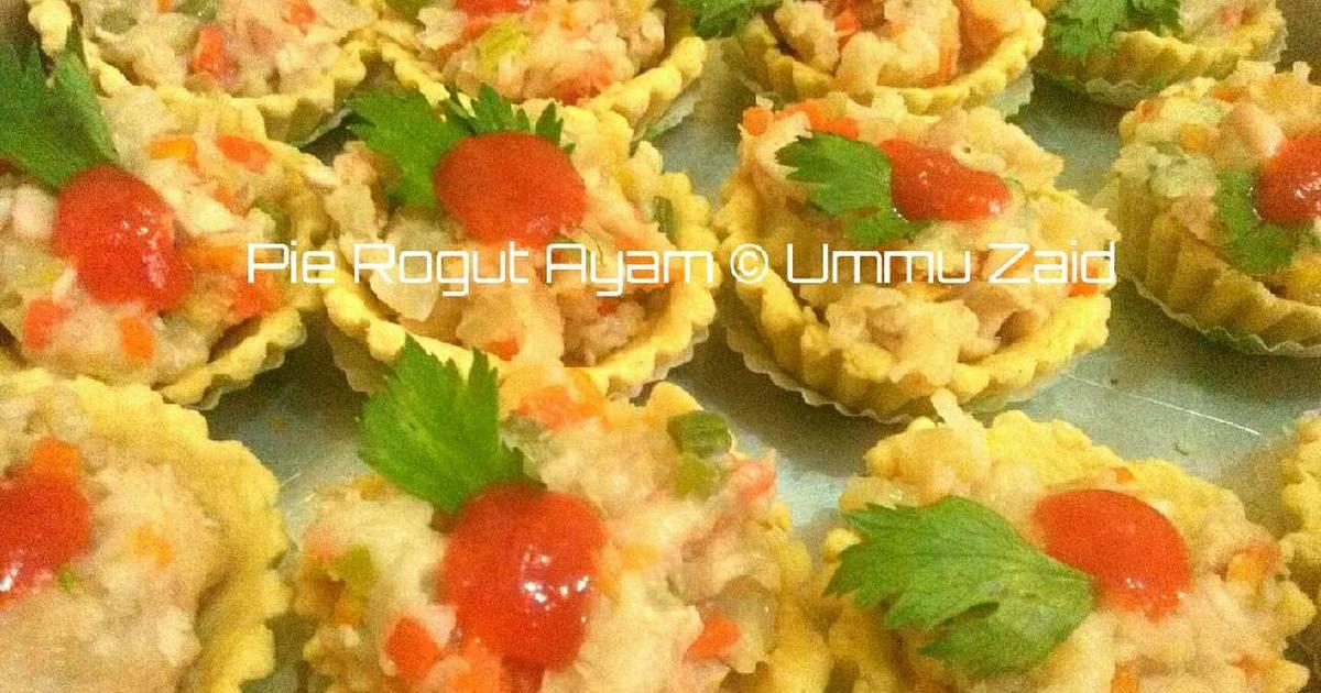 Resep Pie Rogut Ayam Oleh Dapur Ummu Zaid Cookpad