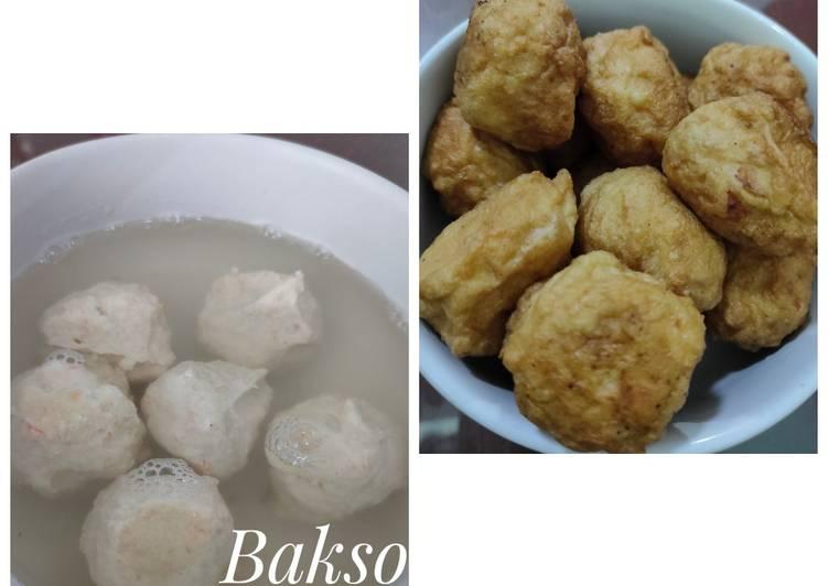 Bakso Tahu Ayam Wortel Favorit Anak2