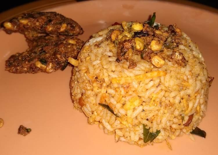 Vangi bath/brinjal rice