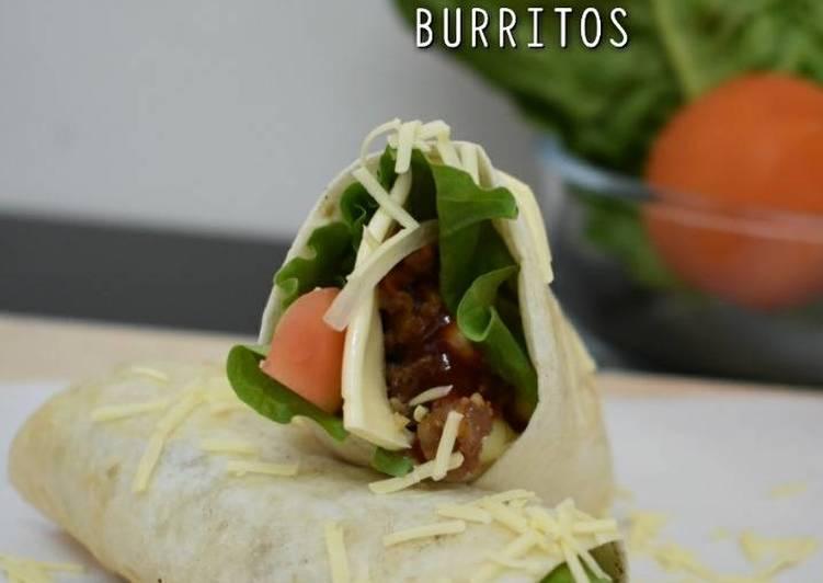 Burrito Daging Pedas dan Keju