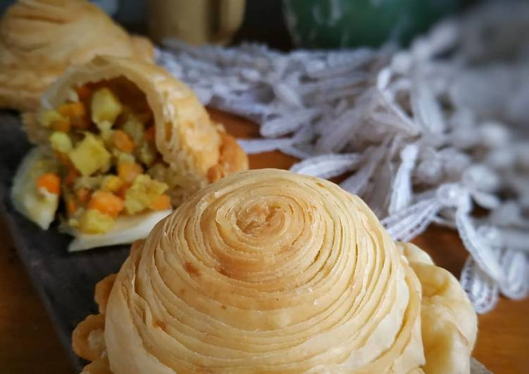Curry Puff/pastel pusing