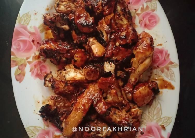 Ayam panggang (khas Banjar) - cookandrecipe.com
