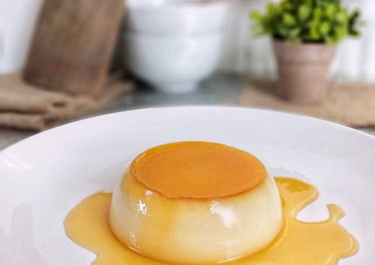 Caramel Custard Pudding ala ala