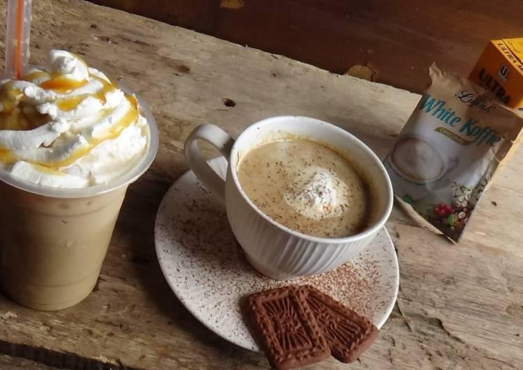 Caramel Machiatto ala-ala Starbucks cuma 2 Bahan