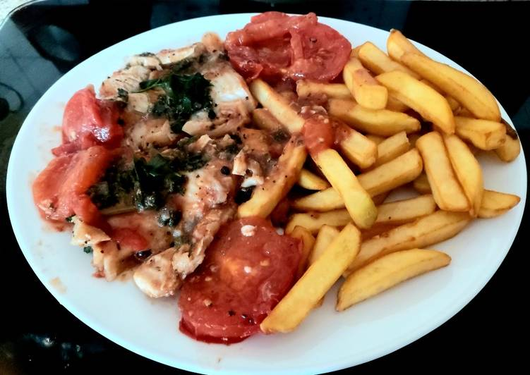 How to Prepare Perfect My Quick Lemon & Basil Haddock in Tomato 🙂