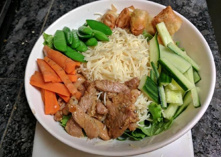 Vietnamese Noodle salad/bowl