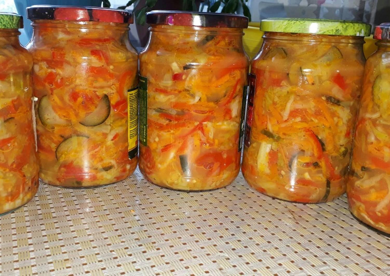 салат кубанский на зиму рецепты с фото изделия