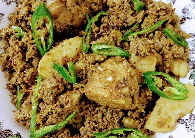 5 Minute Simple Way to Make Autumn Sohanjana Ka Salan (Moringa)