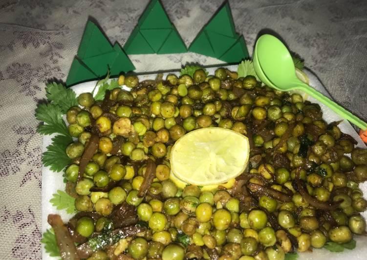Easiest Way to Prepare Homemade Masala peas