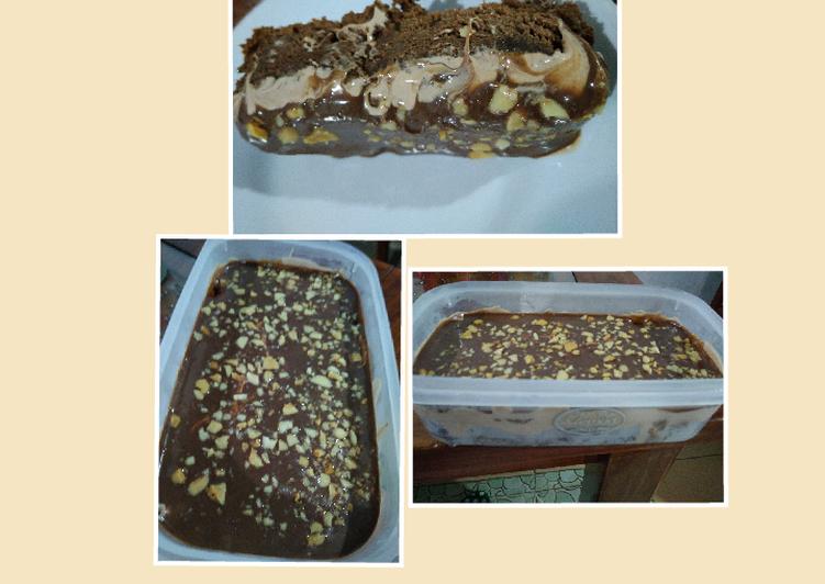 Dessert box triple choco