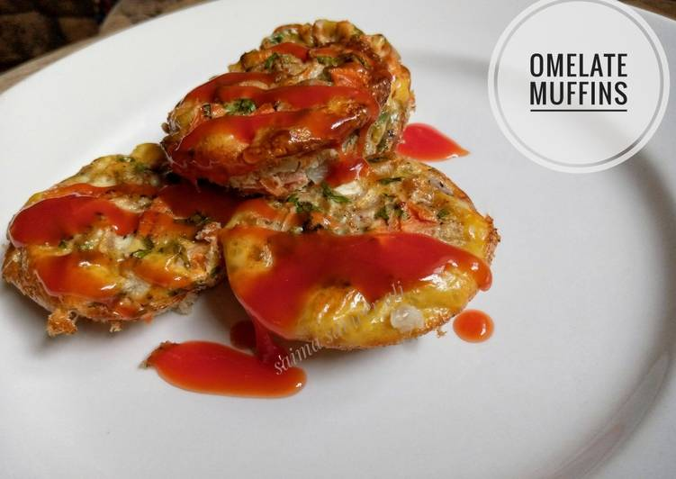 Recipe of Perfect Omelette muffins