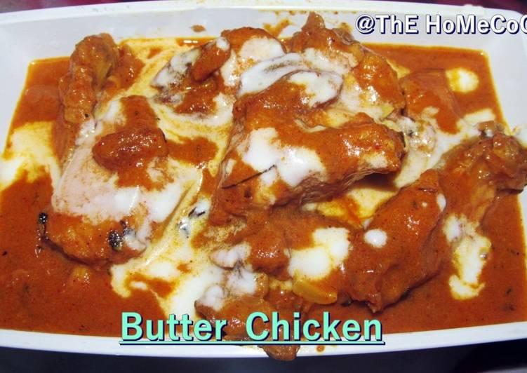 One pan Butter Chicken