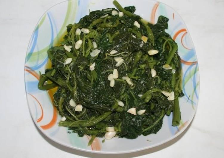 Recipe of Ultimate Amaranthus blitum salad