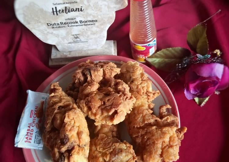 94. Kepala & Hati Ayam Crispy